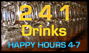2 4 1 drinks at Space 39